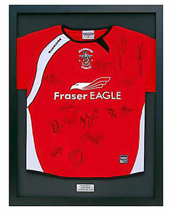 READY-MADE-FRAME-FOR-SIGNED-SHIRT-ENGRAVED-PLAQUE-WITH-YOUR-WORDING