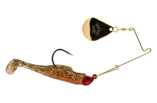 Strike King Saltwater RMG14-160 Sébaste Magique Spinnerbait 1//4oz New Penny