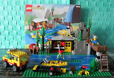 Lego System 6552 Berghütte / Rocky River Retreat  u. Bauanleitung !