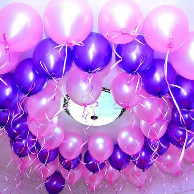"100pcs/lot 10"" Latex Helium Ballons Wedding Party Birthday Decoration"
