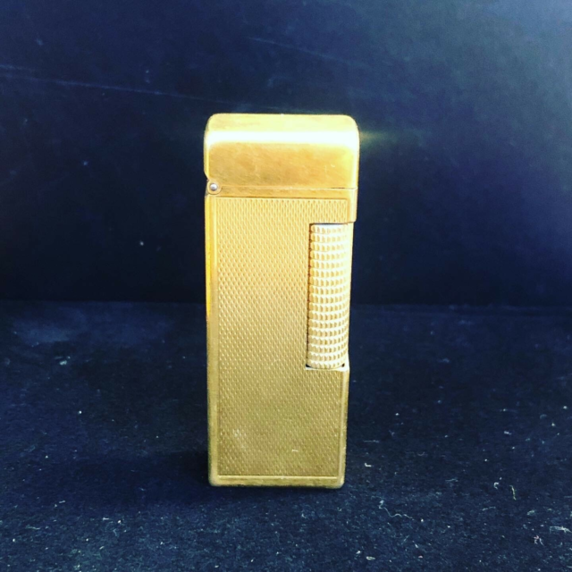 Lighter, Dunhill - guldbelagt lighter - vintage lighter -,…
