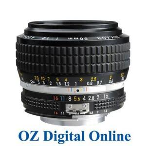 New-Nikon-Nikkor-AIS-50mm-f-1-2-Manual-Focus-F1-2-Lens-1-Year-Au-Warranty