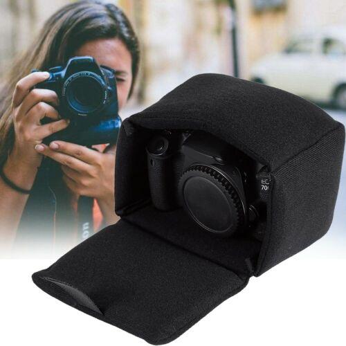 Inserto Almohadilla DLSR cámara Bolsa de protección a prueba de golpes Bolsa De Cámara partición acolchada W