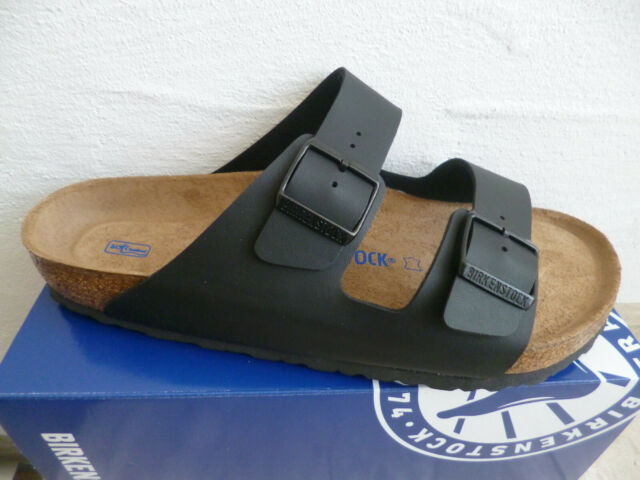 Birkenstock Arizona Mules Sandal Slippers Black 551251 New