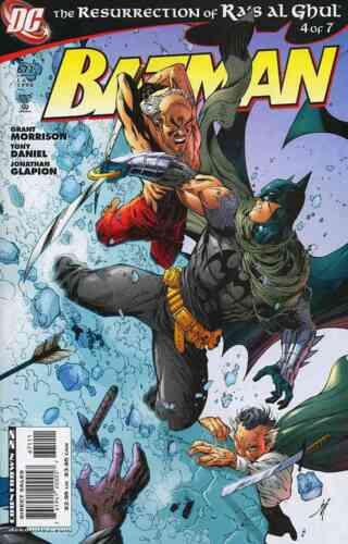 BATMAN #671 VERY FINE 2008 DC COMICS RESURRECTION OF RA/'S AL GHUL