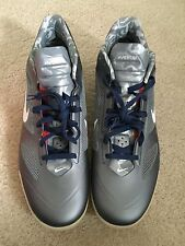 NIB Nike Zoom Hyperfuse 2011 Low PE 487425 Size 18 Silver Basketball Navy Red