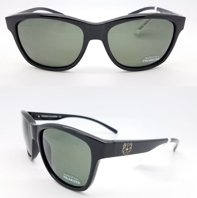 df6c34a647 Suncloud Optics Pageant Sunglasses Black Frame gray Polarized Polycarbonate  Lens