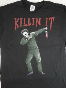 4751a1f3 Image is loading Michael-Myers-Halloween-Dab-Dabbing-Killin-It-Horror-