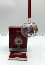 Hutschenreuther Glas Kugel Kristallkugel Weihnachtskugel 2016 - Ø 6cm