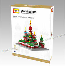 Vasile Assumption Cathedral Moscow Russia 3 D Mini Block Kit by LOZ ARCHITECTURE