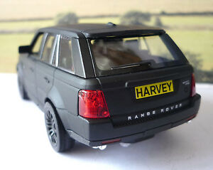 PERSONALISED PLATE Range Rover Sport Boys Toy Car Model Birthday Gift 4 Colours