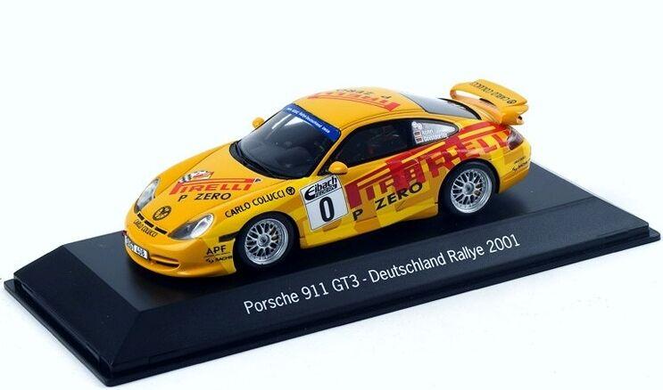 1 43 Spark 2001 Porsche 911 996 GT3 Rallye 70 años Walter Röhrl Porsche Museum