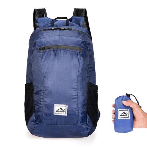 Fitness Folding backpack Travel Waterproof Portable Zipper Lightweight