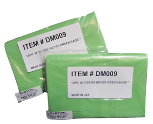 Debbie Meyer Medium greenbags//Vert Sacs M 20 comte