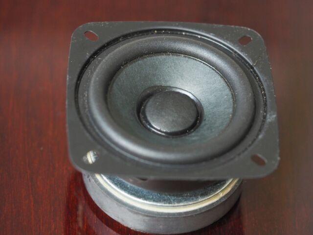 3 inches full range speaker 6 ohm 70mm huge magnet superb built quality !