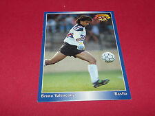 BRUNO VALENCONY BASTIA ARMAND CESARI PANINI FOOTBALL CARD 1994-1995