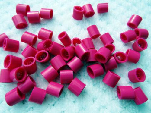 sangles 10 MM uk 100 x Rose Secure Boucle Clip cordons Self Grip-Bracelets