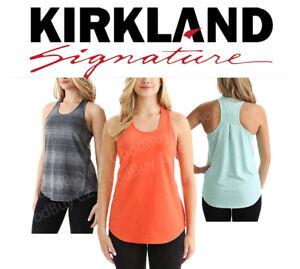 adbd921d899d28 Image is loading Kirkland-Signature-Ladies-039-Racerback-Moisture-Wicking -Active-