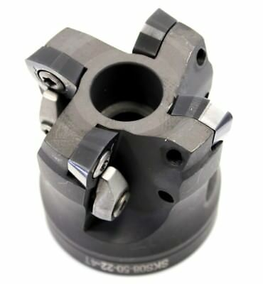 Fp, Sks08-50-22-4t(eco) | 50mm 22mm Bore High Feedrate Face Mill | Indexable