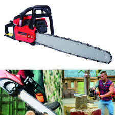 Unbranded Pro 22 52cc 2 Cycle Gas Powered Chainsaw Tree Wood Garden Outdoor 765629240991
