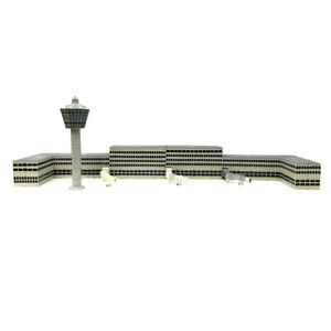 1-400-Scale-Plastic-Airport-Tower-Scene-Model-DIY-Kits-Layout-Accessories