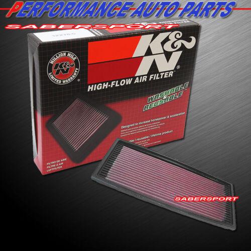K/&N 33-2078 Hi-Flow Air Intake Replacement Drop in Filter for BMW *See Detail*