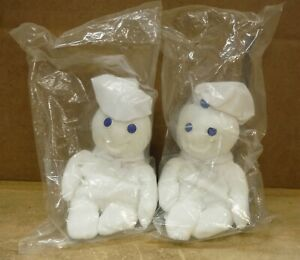 """Pillsbury Doughboy Bean Bag Plush Doll 12/"""" 1997 By Fun 4 All"""