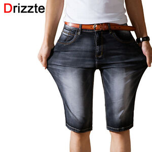 3ae4d038f77ec Image is loading Drizzte-Mens-Lightweight-Denim-Jeans-Shorts-Jeans-Short-