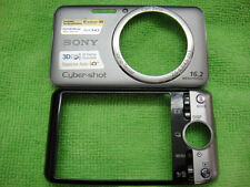 GENUINE SONY DSC-WX50 FRONT BACK CASE COVER SILVER REPAIR PARTS