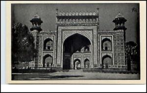 Vintage-Postcard-Indien-India-Gateway-TAJ-MAHAL-AGRA