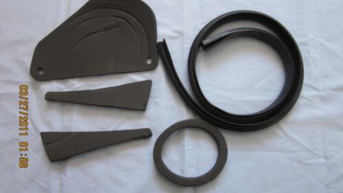 1969 camaro cowel firewall rubber set