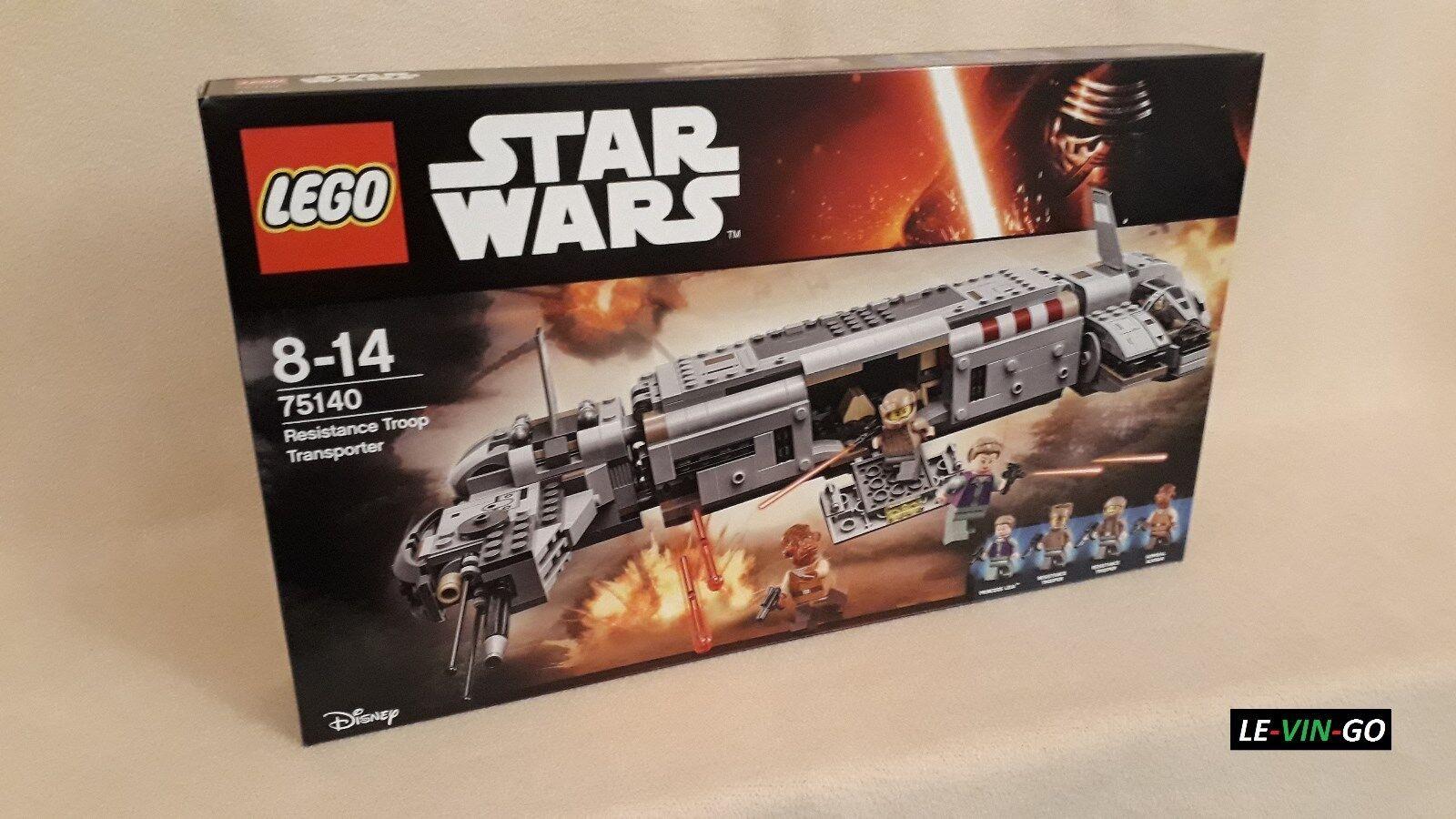 LEGO® Star Wars 75140 Resistance Troop Transporter Neu