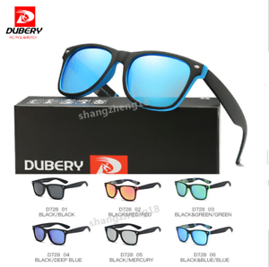 38a41480c92 Image is loading DUBERY-Men-Sport-Polarized-Sunglasses-Outdoor-Driving -Riding-