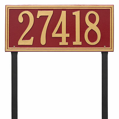 Double Line Estate Lawn One Line Red Gold 719455364192 Ebay
