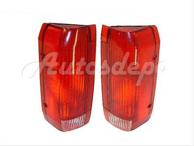 E9TZ 13404 C FO2801105 Replacement 1991 1992 1993 1994 1995 Right Passenger Styleside for 1990-1996 Ford F-150 Rear Tail Light Lamp Assembly // Lens // Cover Side - Go-Parts