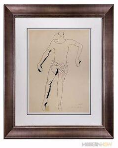 Marino-MARINI-Lithograph-SIGNED-Ltd-EDITION-Juggler-1945-Custom-FRAMING-20x24in