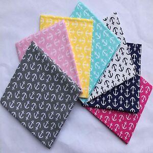 Print-Fabric-Precuts-Fat-Quarter-18-034-x-21-034-Anchor-100-COTTON-FABRIC