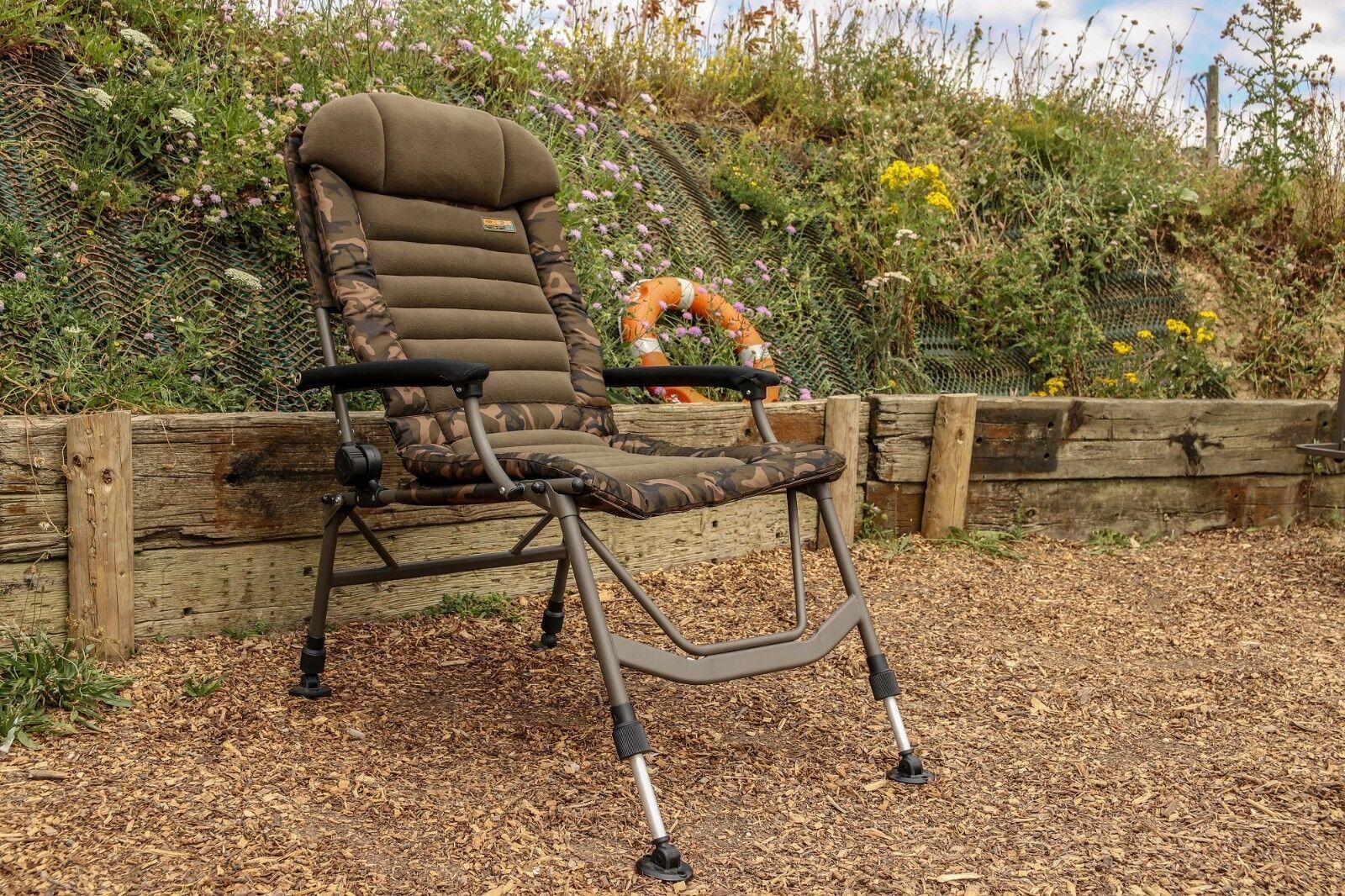 Fox FX Super Deluxe Recliner Chair Camo NEW - CBC078 TT EXCLUSIVE