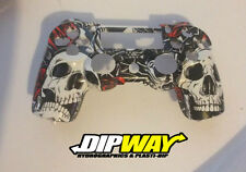 Hydro Dipped PS4 Controller Shell - Kiss of Death Camo, Call of duty Ghosts