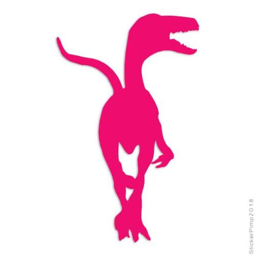 Size #1028 Velociraptor Raptor Dinosaur Decal Sticker Choose Color