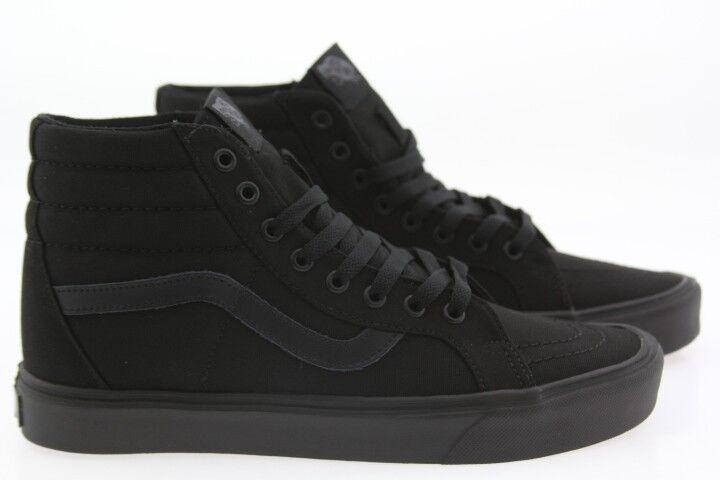 Vans Men Sk8-Hi Lite + Canvas black black VN04PA186