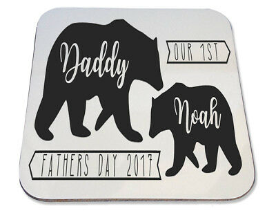 BEER MAT FATHERS DAY GIFT F*CK DNA STEP DAD DADDY PRESENT FUNNY COASTER