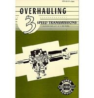 1948-54 Chevy Truck Transmission Overhaul Manual - 3 Speed