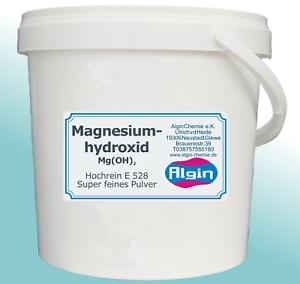 Magnesiumhydroxid reinst 1 L Eimer E528 Säureregulator Trennmittel