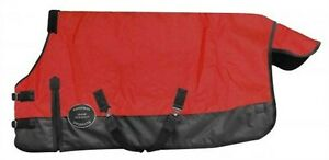 Showman-RED-FOAL-amp-MINI-Size-42-034-46-034-Waterproof-amp-Breathable-Turnout-Blanket