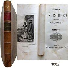 Wyandotté 1862 Fenimore Cooper traduction Defauconpret