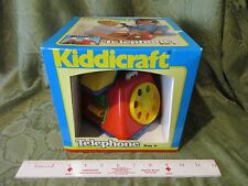 NEW Fisher Price Kiddicraft Telephone 9M+ Spinner Boing Ring Call Land Line