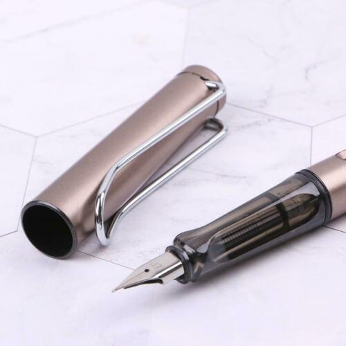 Luxury Men/'s Fountain Pen Business Student Gift Nib 0.38mm Calligraphy Durable