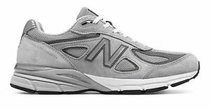 New-Balance-Men-039-s-990v4-Made-in-US-Shoes-Grey
