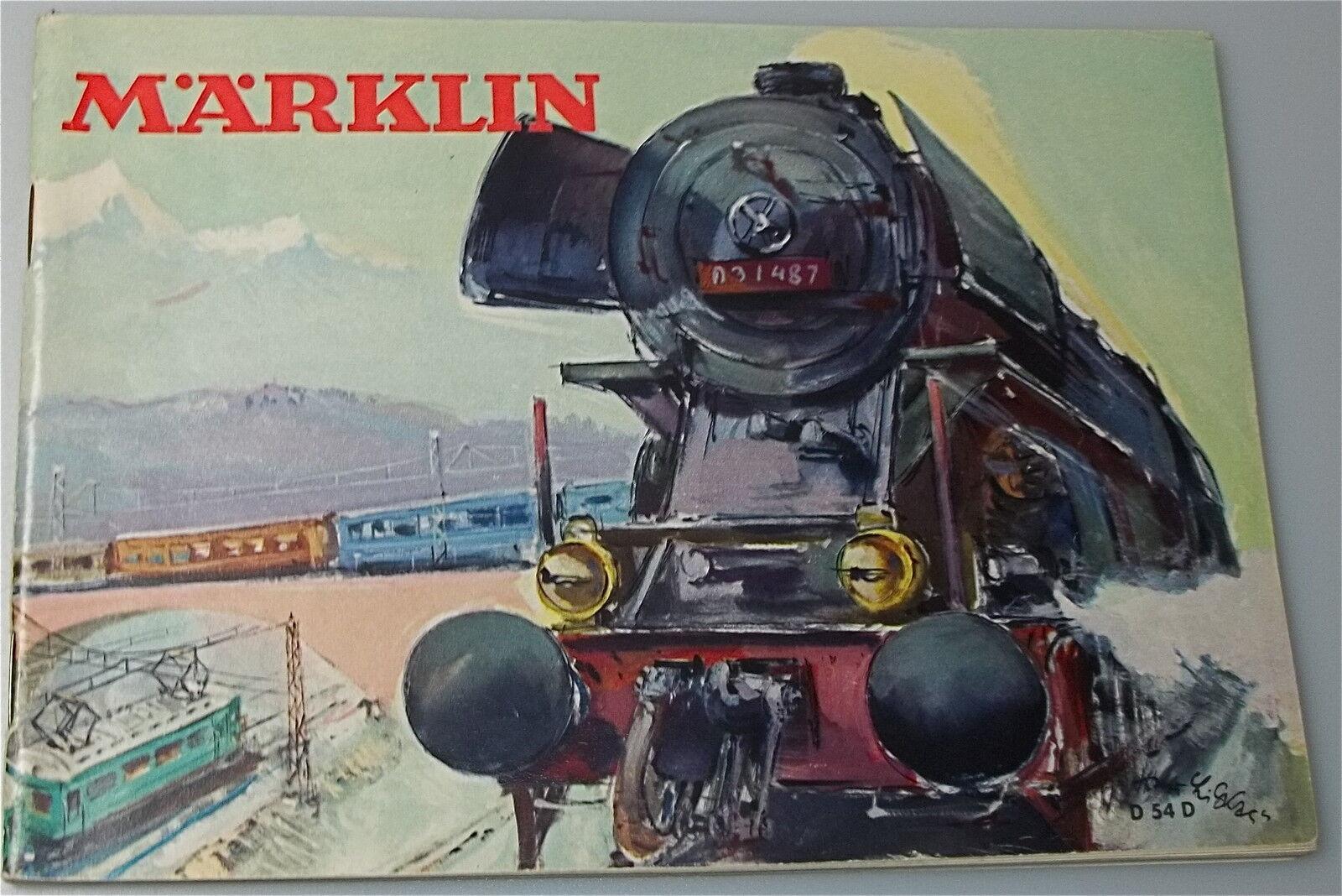 MÄRKLIN Katalog D54 D           å